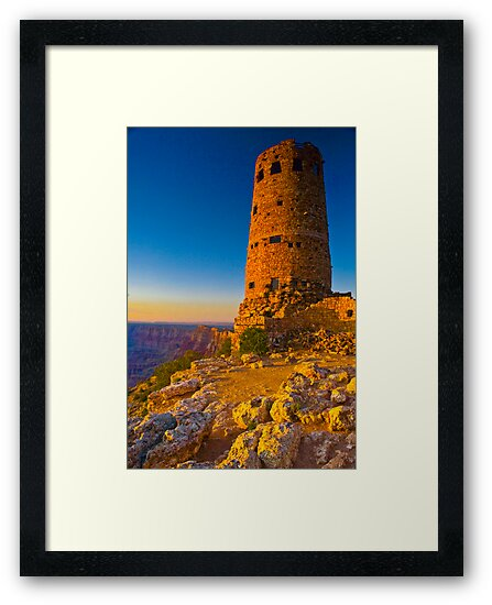 Grand Canyon East Entrance Tower by photosbyflood
