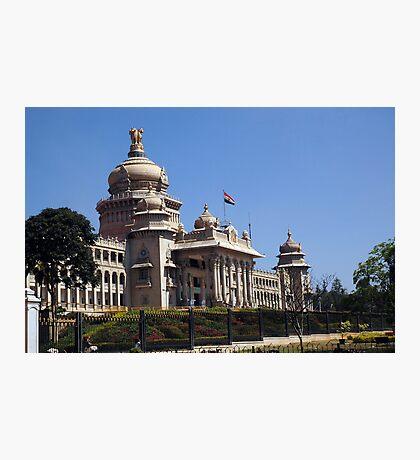 Vidhana Soudha, Bangaluru Photographic Print