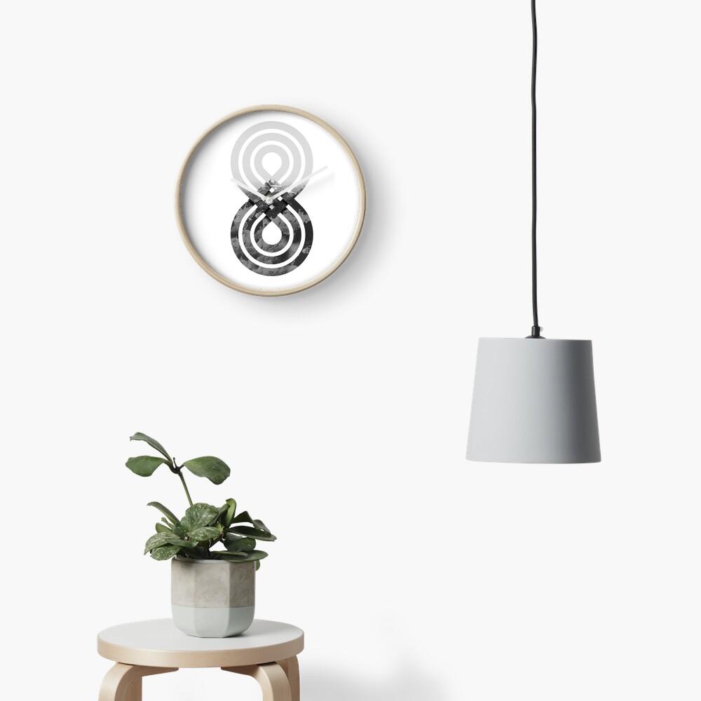 Nature's knot Clock