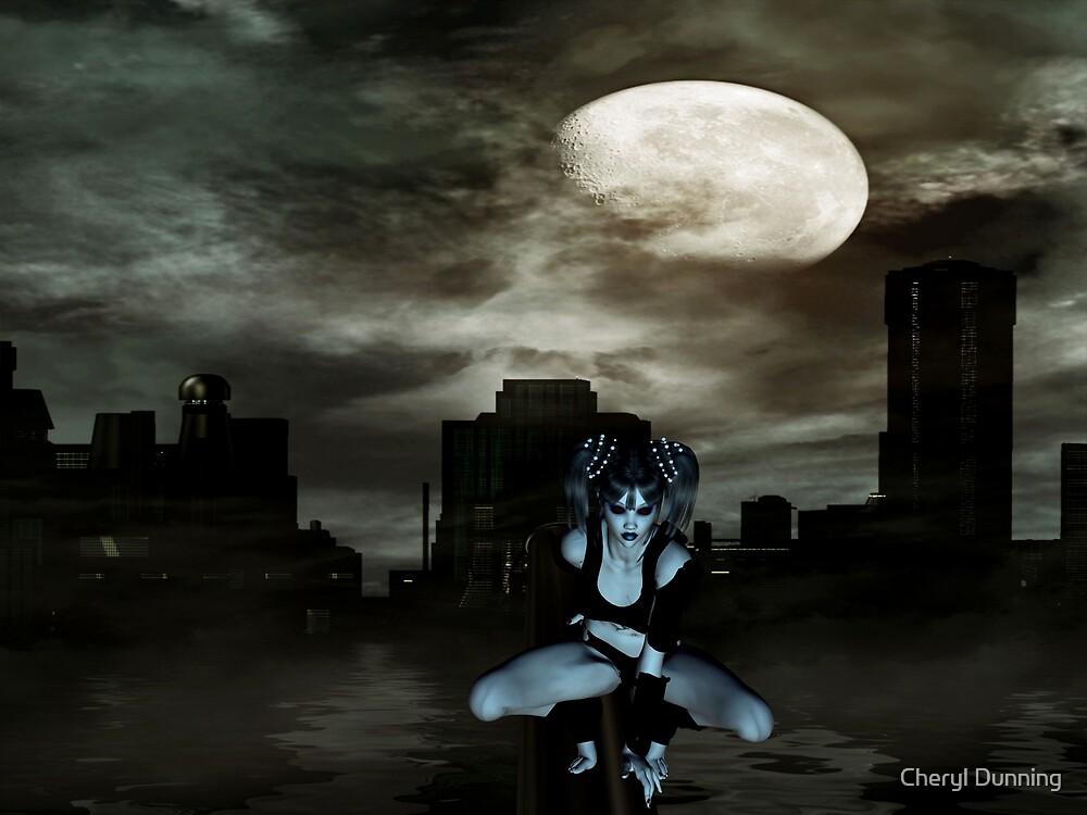 dark night by Cheryl Dunning