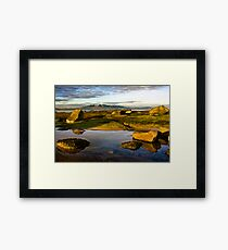 North beach ardrossan, Scotland Framed Print