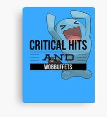Critical Hits and Wobbuffets! Canvas Print
