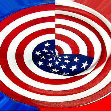 Flag Swirl by fairygirl