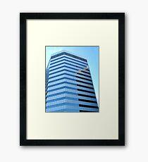 SHAPES & PATTERNS Framed Print