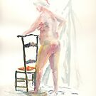 Life session nude 4 by J-C Saint-Pô