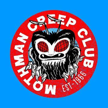 Mothman Creep Club by Gimetzco