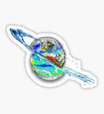 Earth Split Sticker