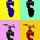 Lambretta Model D Pop Art by BaM-Productions