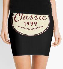 1999 Birthday Gift Vintage Classic 19th Birthday Present Mini Skirt