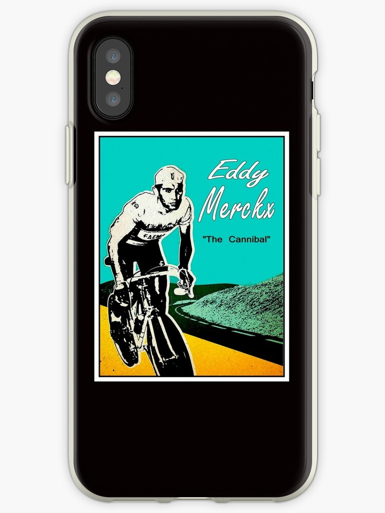 EDDY MERCKX; Vintage The Cannibal Racing Poster by posterbobs