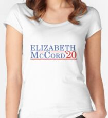 Elizabeth McCord for President 2020 Women's Fitted Scoop T-Shirt
