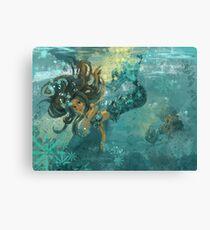 Mermaids at Play Canvas Print