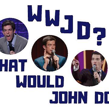 wwjd? what would john mulaney do? by shinysylvieon