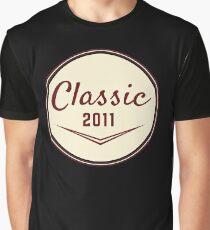 2011 Birthday Gift Vintage Classic 7th Birthday Present Graphic T-Shirt