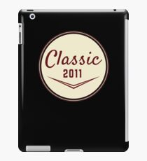 2011 Birthday Gift Vintage Classic 7th Birthday Present iPad Case/Skin