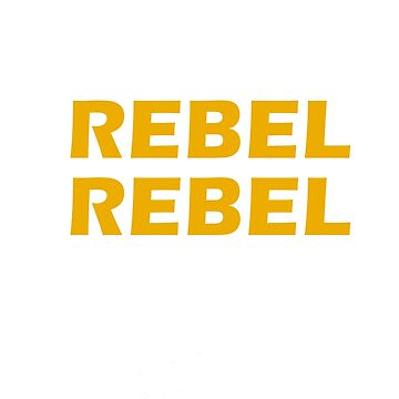Rebel Rebel - Bowie Wars by PopArtdom