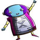Zeno Sama Dibujo Dragon Ball Super by Davidisla39