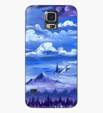 """""""Cotton Skies"""" - Acrylic Painting Case/Skin for Samsung Galaxy"""