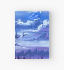 """""""Cotton Skies"""" - Acrylic Painting Hardcover Journal"""