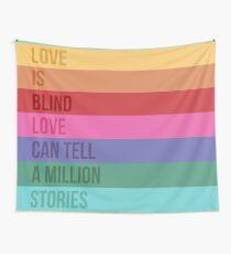 Tela decorativa El amor es Blind Square / Falsettos