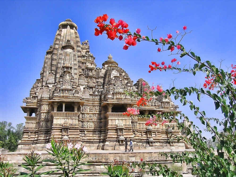 Temple. Khajuraho, India by vadim19