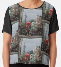 BT Tower aus China Town, London Chiffontop