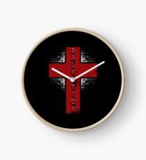 Salvation Cross Clock