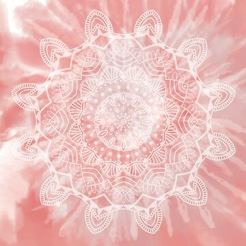 Pink Mandala by toryprichard