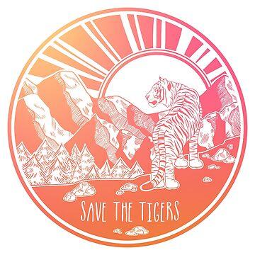¡Salva a los tigres! de Chikagi