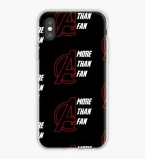 More Than A Fan  iPhone Case