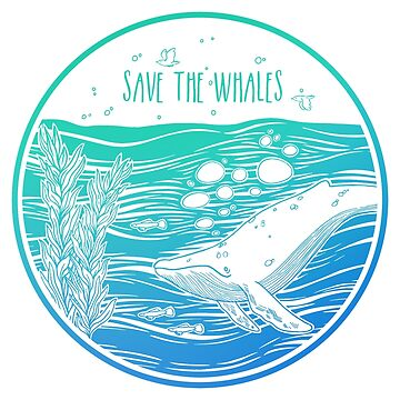 ¡Salven a las ballenas! de Chikagi