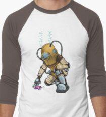 Deep Sea Diver - Big Daddy (Coloured) Men's Baseball ¾ T-Shirt