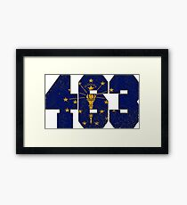 ALWAYS REPPIN' THE 463 Framed Print