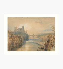 Barnard Castle by Joseph Turner Art Print