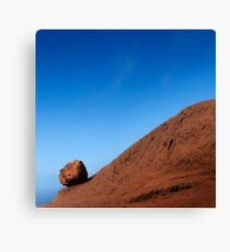 Waiting for Sisyphus Canvas Print