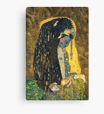 The Kiss: Like Starlight Canvas Print