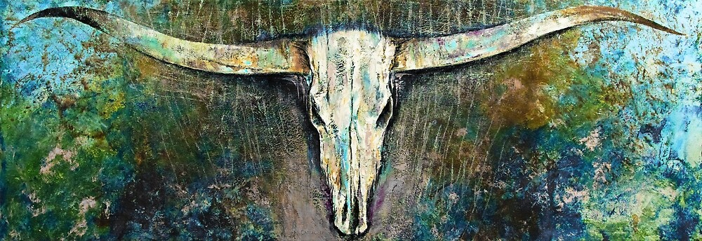 Texas Longhorn by Michael Creese