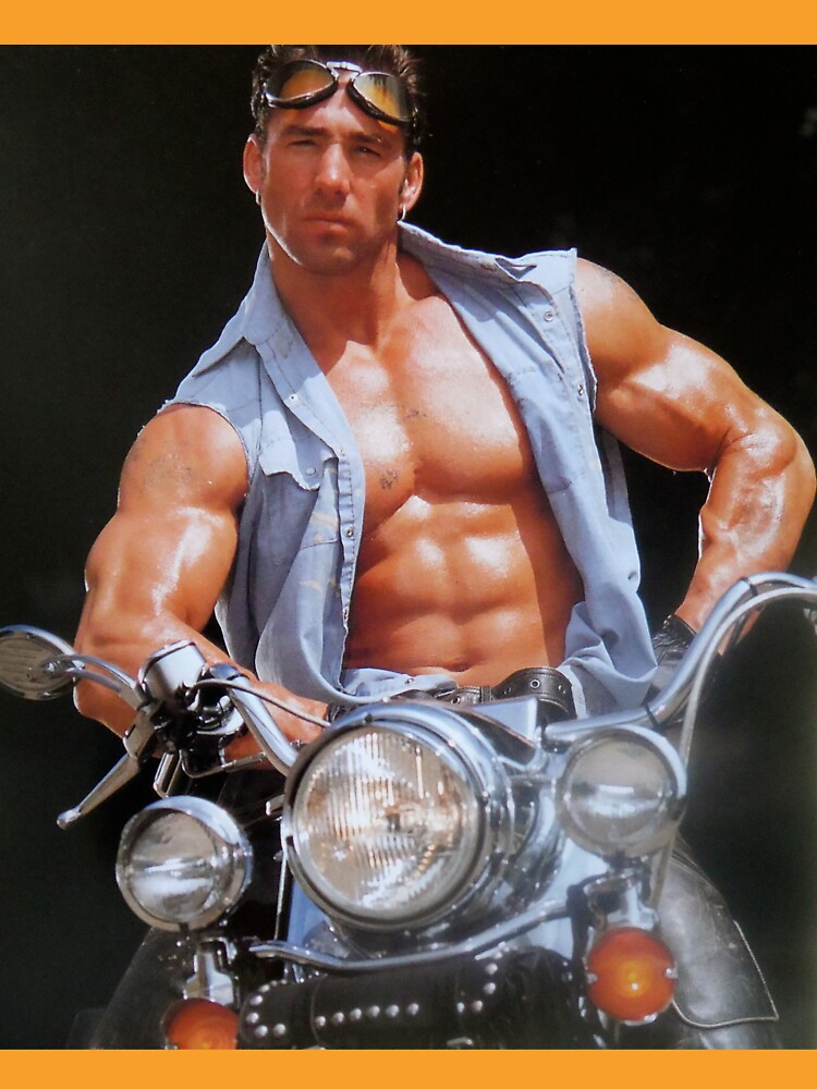 Billy Herrington on motorcycle by planete-livres