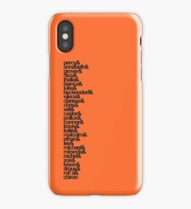 Percy Jackson and the Olympians Characters iPhone Case