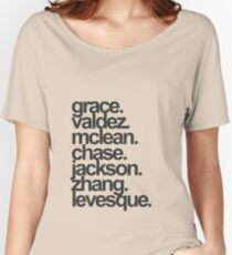 Heroes of Olympus Seven of the Prophecy Women's Relaxed Fit T-Shirt