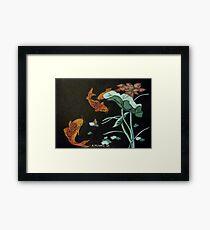 Chinese Goldfish Framed Print