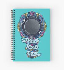 CAST IRON PAN Spiral Notebook