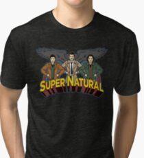 Super Natural Friends Tri-blend T-Shirt
