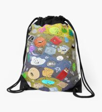 Battle for BFDI Drawstring Bag