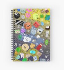 Battle for BFDI Spiral Notebook