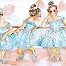 Strange Ballerinas by Avril E Jean
