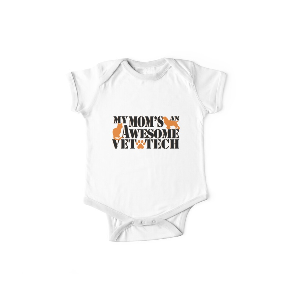 Awesome Mom Vet Shirt Mothers Day Birthday Gift Idea