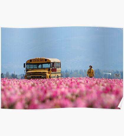 School Bus, Magic Bus. Poster