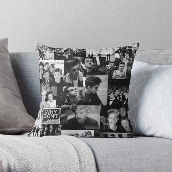 WDW collage Throw Pillow