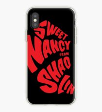 Sweet Nancy - Red iPhone Case